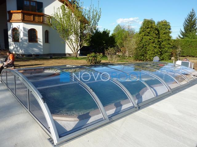 Inteligentny Zadaszenia basenowe | NOVOPOOL CM18